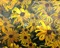 """Up Close and Personal, Rudbeckia"" by Joanne Unruh"