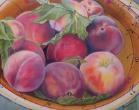 """Bowl Full of Peaches"" by Joanne Unruh"