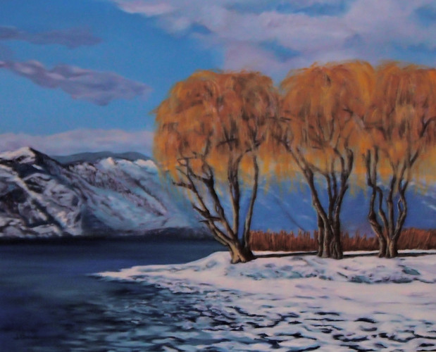 """Okanagan Winter Willows"" by Joanne Unruh"