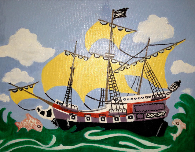 """Pirate Ship"" by Joanne Unruh"